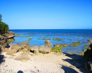 伊江島の海岸