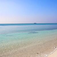 2014年年初めの伊江島ビーチ