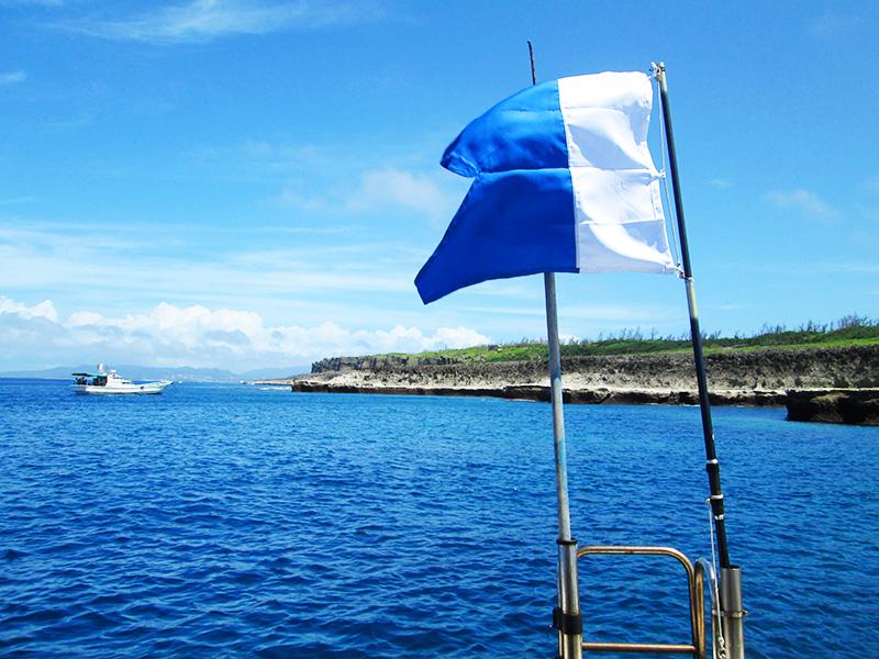 伊江島の北海岸