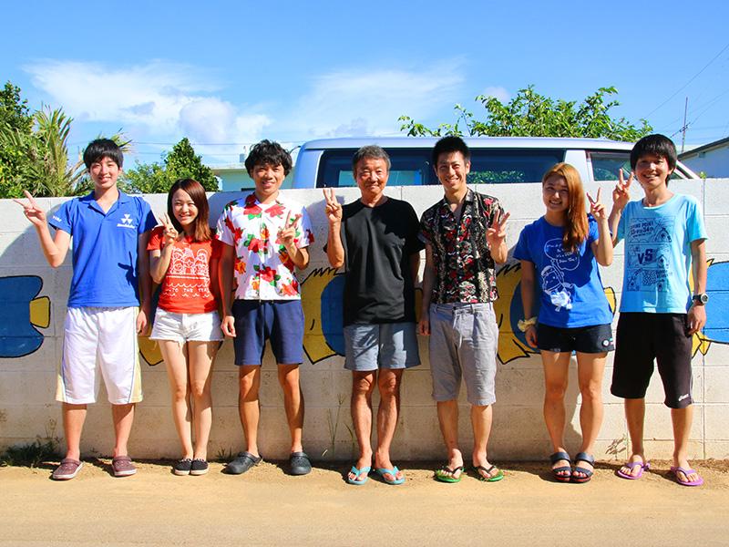 同志社大学ダイビングポイントOB2014年9月