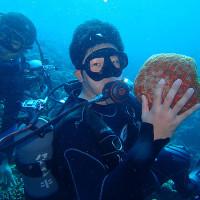 卒業旅行で体験ダイビング