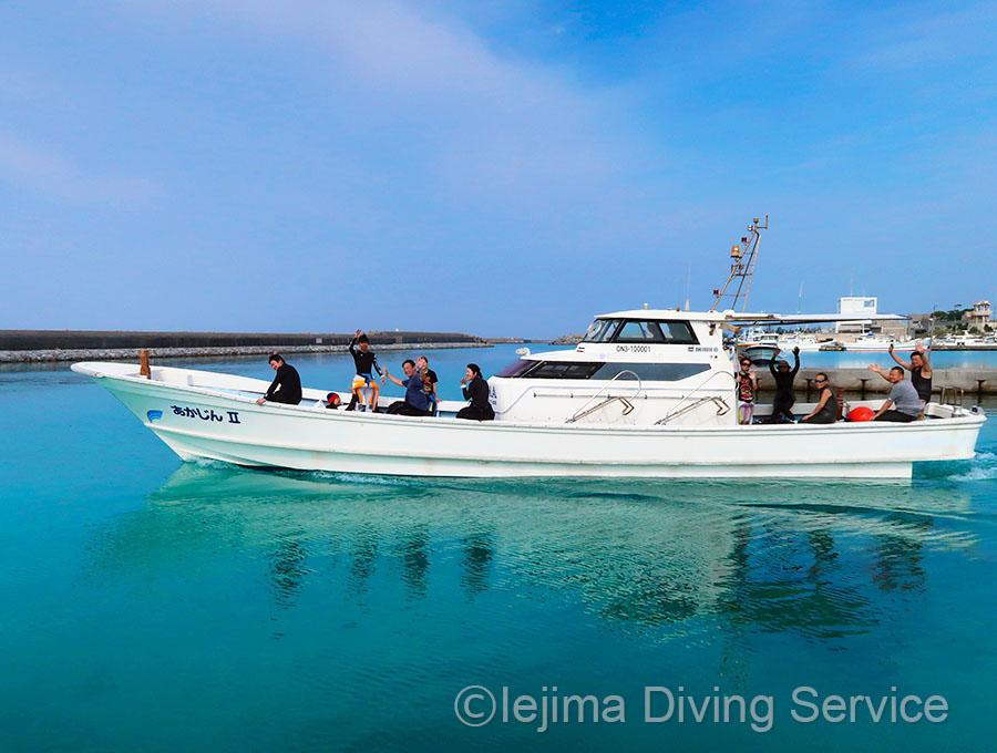 伊江島ダイビングサービスのゴールデンウィーク
