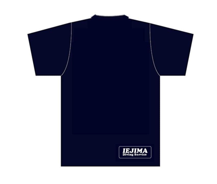 ダイポ&伊江島ダイビングサービスのTシャツ(後)