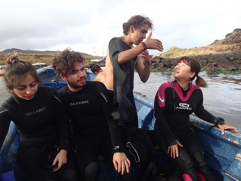 イースター島のダイビングショップ Atariki Rapa Nui Diving Center