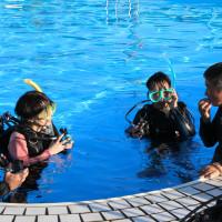 伊江島ダイビングサービスCカード講習