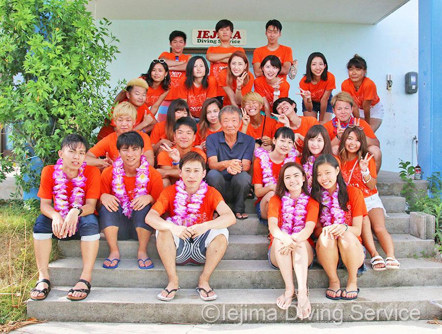同志社大学ダイビングポイント夏合宿2017年-1