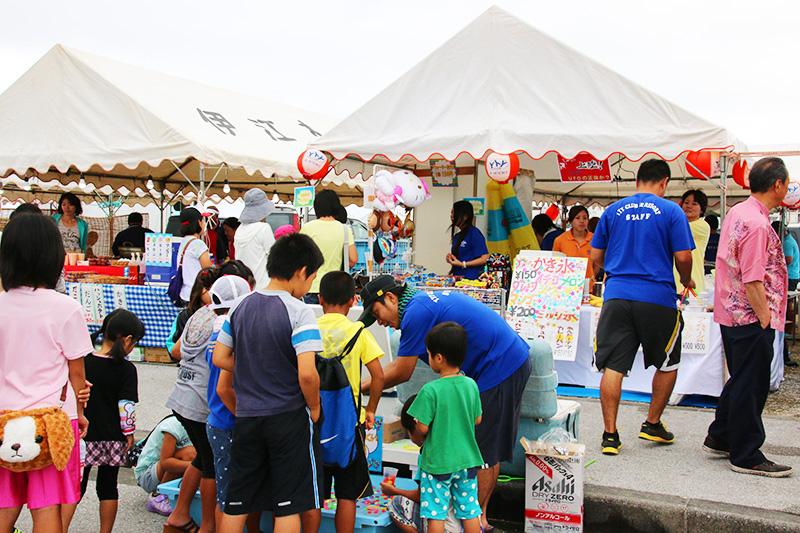 伊江島海神祭 出店