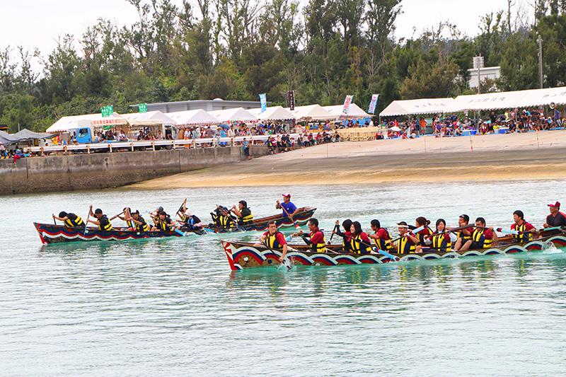 伊江島海神祭2013年の様子