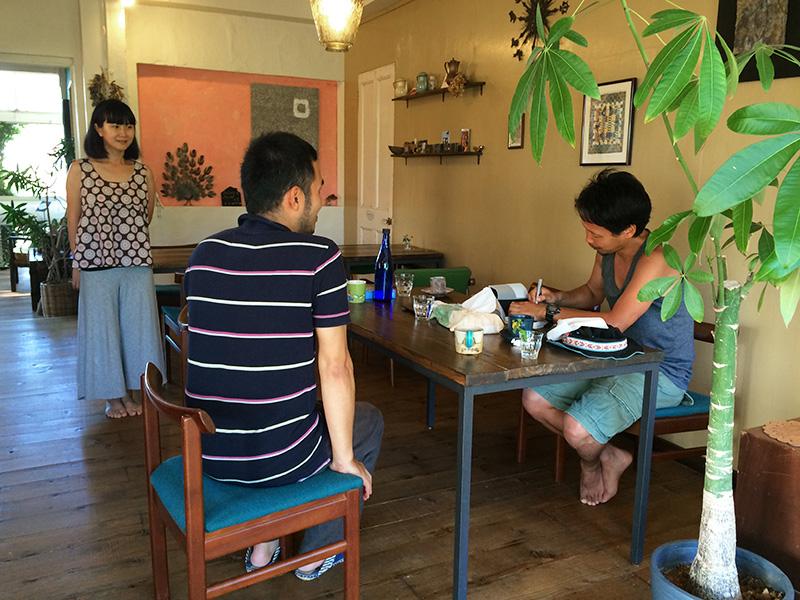 竹沢うるま、Casa Viento にて
